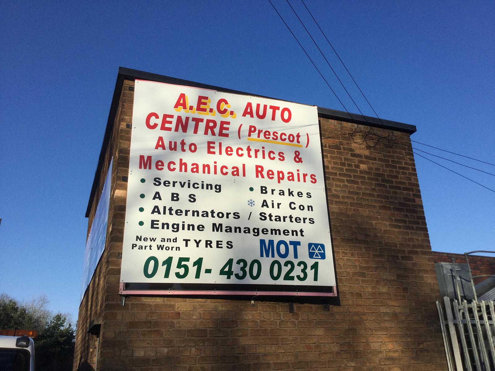 Car Garage in Whiston